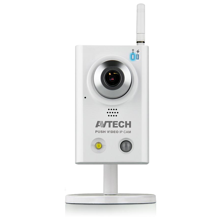 "AVN813 (архив)|Корпусная цветная ""День-Ночь"" Wi-Fi PUSH VIDEO IP-видеокамера 1.3Мп (HD)"