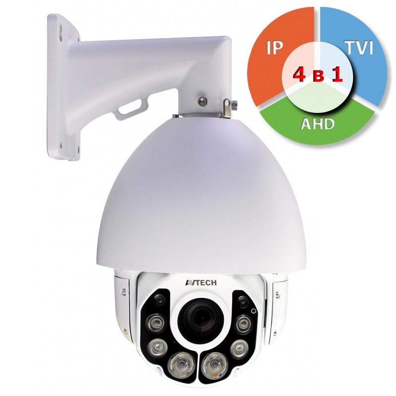 AVZ592 Новинка !|Уличная цветная скоростная поворотная IP-видеокамера 2Мп (Full HD) с режимом WDR и ИК подсветкой