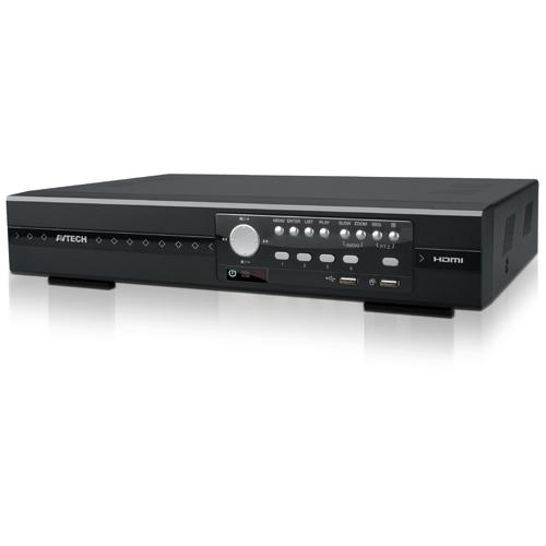 AVZ404|4-канальный Real-Time гибридный видеорегистратор (HVR)