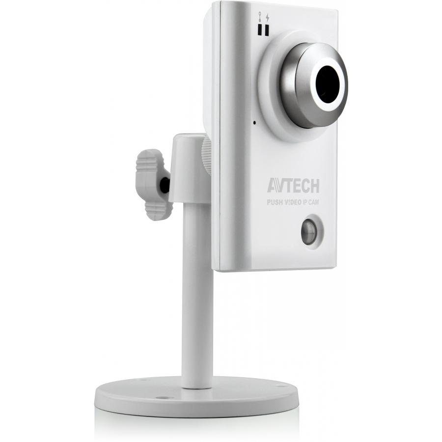 AVN801 (архив)|Корпусная цветная PUSH VIDEO IP-видеокамера 1.3Мп (HD)