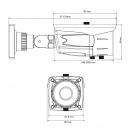 фото.2 AVM2452H (архив)|Уличная IP-камера 2 Мп с ИК подсветкой до 30 метров