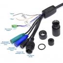 фото.4 AVZ593|Уличная скоростная поворотная AHD, TVI, IP-видеокамера 2Мп с ИК подсветкой до 200м.