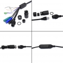 фото.5 AVZ593|Уличная скоростная поворотная AHD, TVI, IP-видеокамера 2Мп с ИК подсветкой до 200м.